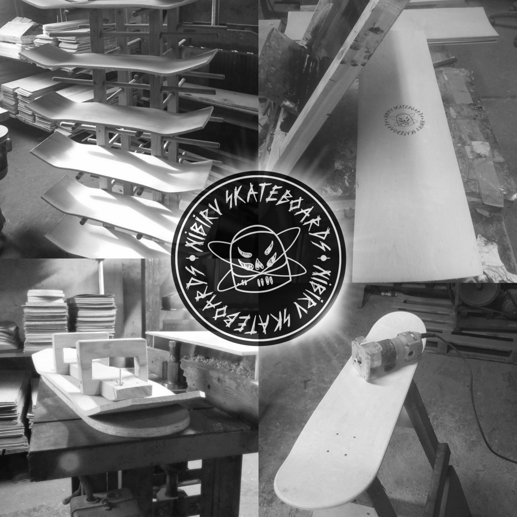 nibiru skateboards factory