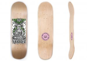 Buddha on Prometheus Skateboards
