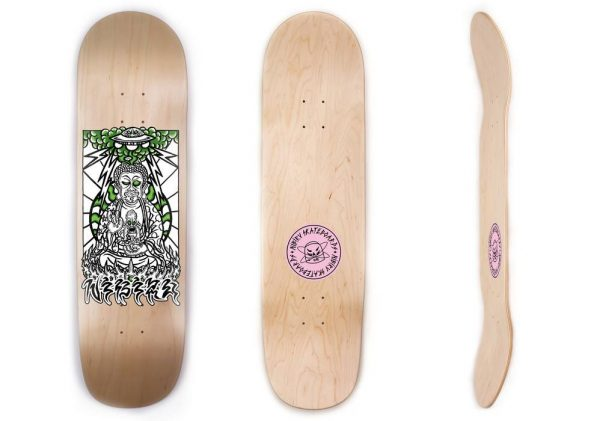 Buddha on Prometheus Skateboards